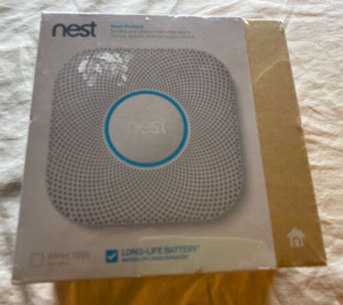 Genuine Google Nest S3000BWES Nest Protect (Battery) 2nd Generation. Sealed.