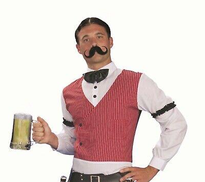 Forum Novelties Handlebar Mustache Old West Victorian Halloween Costume 65855 (Mustache Novelties)