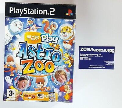 Eye toy astro zoo + eye toy camara, Playstation 2, PAL-ESP, Nuevo...