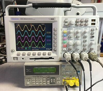 Tektronix Tds3054 4 Ch Dpo Oscilloscope 500mhz 5gsas Options