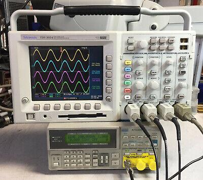 Tektronix Tds3054 4 Ch Dpo Oscilloscope 500mhz 5gsas Options
