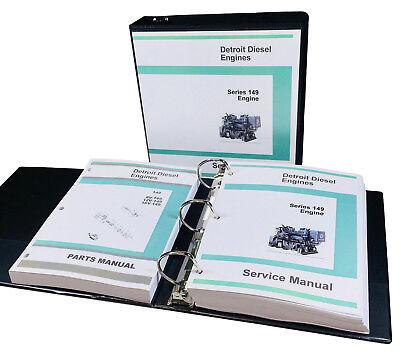 Detroit Diesel Motor Serie (Detroit Diesel Serie 149 Motor 8V 12V 16V Service Teile Manuell Geschäft Set)
