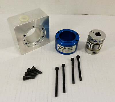 Gam Gear Lsk22n-0994 Linear Slide Kit Housing Metal Coupling Bellows