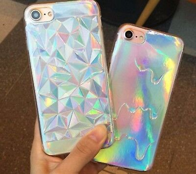1 Best HOLOGRAM TRIANGLE MELTING Phone Case for iPhone 5 5S SE 6 6S 7 Plus
