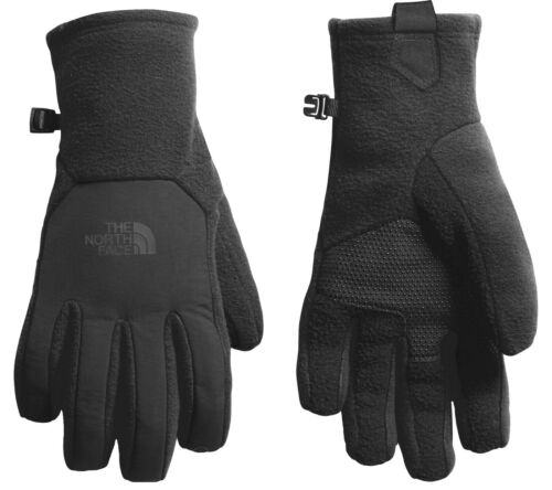 NWT The North Face TKA 300 Men's Denali Etip UR Powered Black Gloves $35