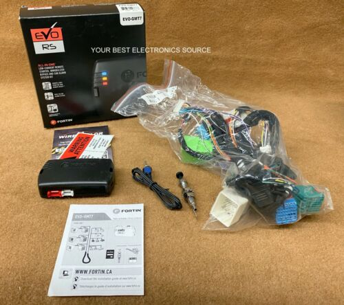 NEW FORTIN EVO-GMT7 Remote Start for Select 2010-up GM Vehicles w/ Key Ignition