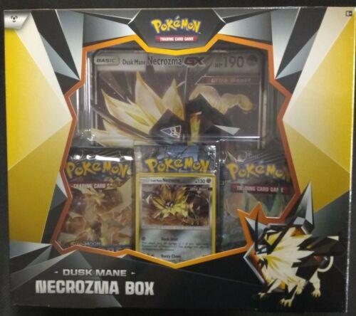 Pokemon Tcg Pokemon Dusk Mane Necrozma International Box Sealed