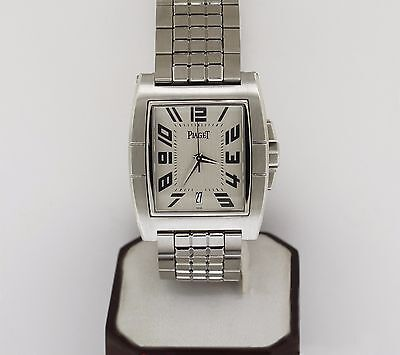 PIAGET Upstream Automatic St.Steel Silver Dial Watch, Model # 27050
