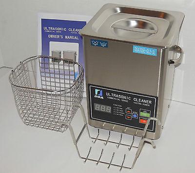 Dsa70se-gl2 3l 3.17qt 270w Dual 2040khz Digital Heated Ultrasonic Parts Cleaner