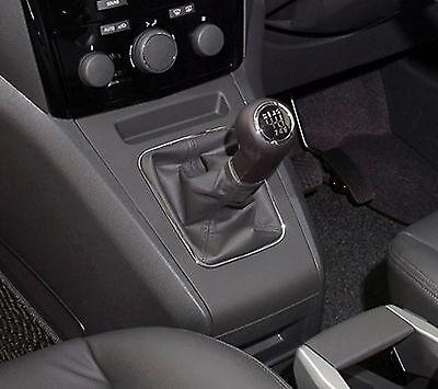 Genuine Leather Shift Gear Gaiter Cover Sleeve fit Vauxhall Zafira B MK2 2005 ->