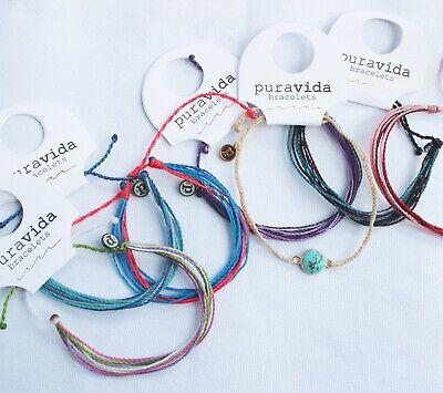 Friend Ship Bracelets (Mix Lot 5 random PURA VIDA Friendship Bracelets & Viva la Vida NEW)