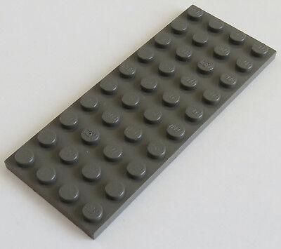 LEGO PLATTE PLATE 4 X 10 DUNKELGRAU 3030