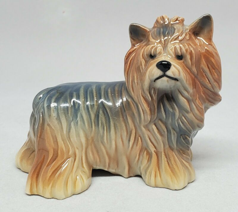 Royal Copenhagen #043 Yorkshire Terrier Yorkie Dog Porcelain Figurine Puppy RARE