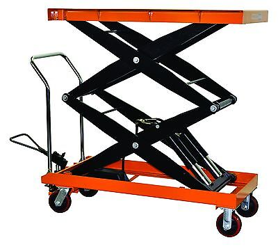 Bolton Tools Hydraulic Double Scissor Lift Table Cart 2200 Lb. Capacity Tf100sd