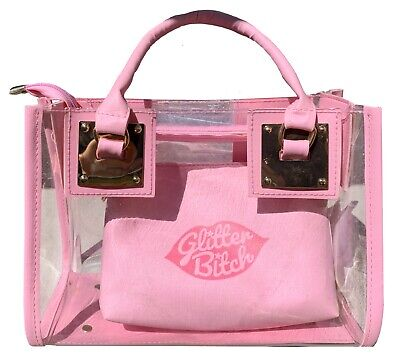 Pink Hand Bag w/extra Purse