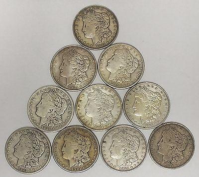 Circulated 1921 Morgan Silver Dollar