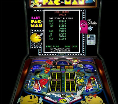BABY PAC-MAN Pinball Arcade LED Lighting Kit custom SUPER BRIGHT KIT