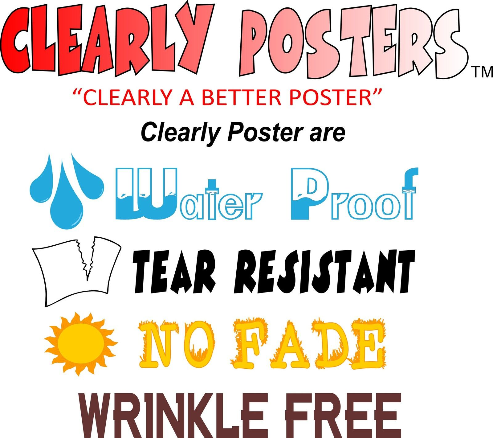 Clearly Posters