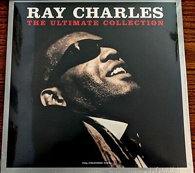 Ray Charles ULTIMATE COLLECTION 180g GREATEST HITS Best Of NEW CLEAR VINYL 2