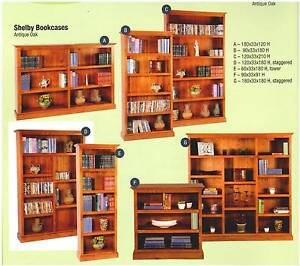New Bookcases Timber All Sizes Start at $299.Rent To Keep Option. Ipswich Region Preview