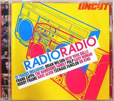 """RADIO RADIO"" cd promo FRANK ZAPPA GARY NUMAN BRIAN WILSON NEW YORK DOLLS segunda mano  Embacar hacia Spain"