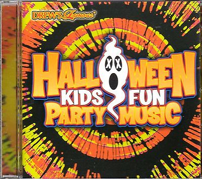 Drew's Famous HALLOWEEN KIDS FUN PARTY MUSIC: 15 SPOOKY SONGS PLUS BONUS! RARE!!](Children's Spooky Halloween Music)