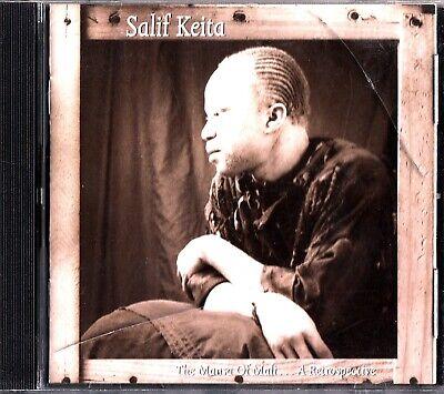SALIF KEITA - THE MANSA OF MALI A RETROSPECTIVE CD 1994 Best of/Greatest
