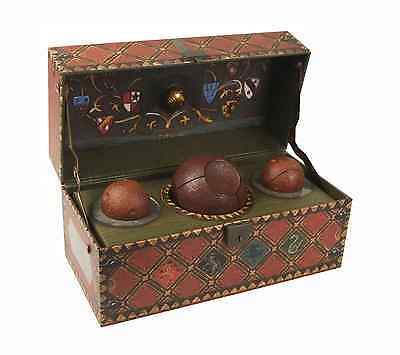 Official Harry Potter Commemorative Collectible Decorative Quidditch Trunk Set
