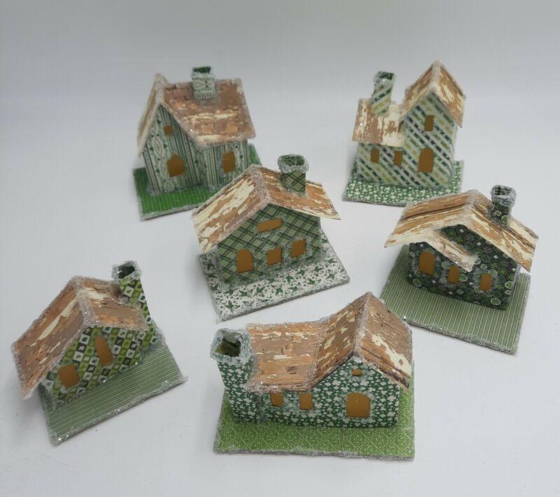Shamrock Central Paper Putz House Village