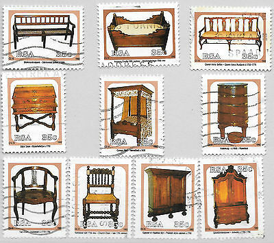 SOUTH AFRICA 1992 ANTIQUE CAPE FURNITURE 1968