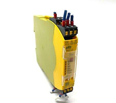 Pilz Pnoz S3 C 24vdc 2 No Sigma Safety Relay 751103