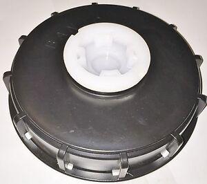 ibc tote 275 330 tank cap 6 cover 2 npt lid bung adapter schutz banjo tl651s. Black Bedroom Furniture Sets. Home Design Ideas