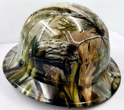 Hard Hat Full Brim Custom hydro dipped NEW REALTREE APG CAMO NEW best price 1