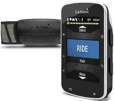 Garmin Edge 520 GPS Cycle Computer + Heart Rate Monitor & Cadence / Speed Sensor