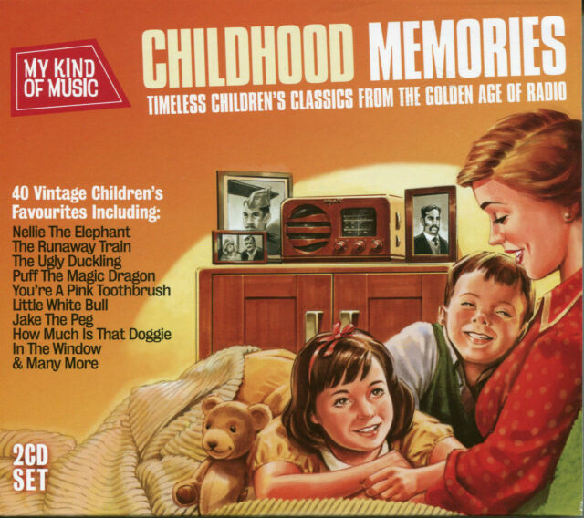 MY KIND OF MUSIC CHILDHOOD MEMORIES - 2 CD BOX SET, NELLIE THE ELEPHANT & MORE