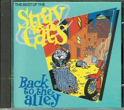 CD : Stray Cats - Back To The Alley, The Best Of