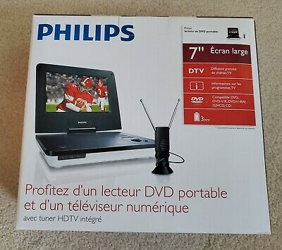 PHILIPS portable DVD player, 7