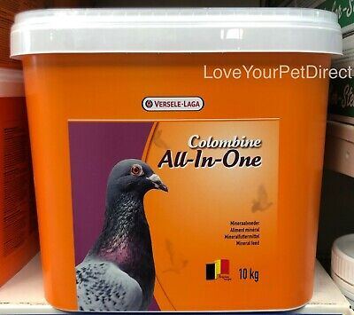 Versele Laga Pigeon Colombine All In One Mix 10KG Vitamin Bird Food   BMFD DS