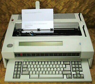 Reconditioned Ibm Wheelwriter 30 Series Ii Typewriter Wmemory Works Great