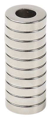 Lot 25 50 100 12 X 18 Hole 14 Neodymium Rare Earth Ringdonut Magnets N48