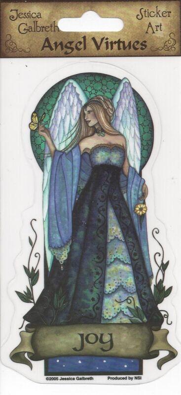 JOY Angel Virtues Fairy Sticker Faery Car Decal Jessica Galbreth faerie
