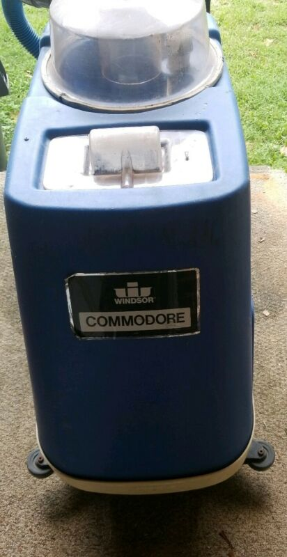 Windsor Commodore CMD Commercial Carpet Extractor w/ 99 hours plus parts machine