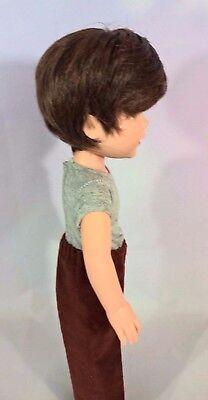 """8-9"""" Custom Doll Wig fits Dolfie, Luts, Zapf, Wellie Wisher L'IL GRIZZLY-BOY bn5"""
