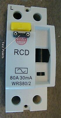 RCD front cover