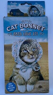 Costumes For Your Cat (Cat Bonnet! - Bonnet Hat for Your Kitty)
