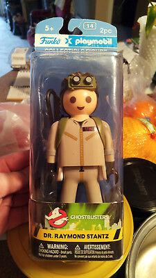 "Playmobil Ghostbusters Ray Stantz 6"" Figure 8817 Funko x Vinyl Collectible Toy"