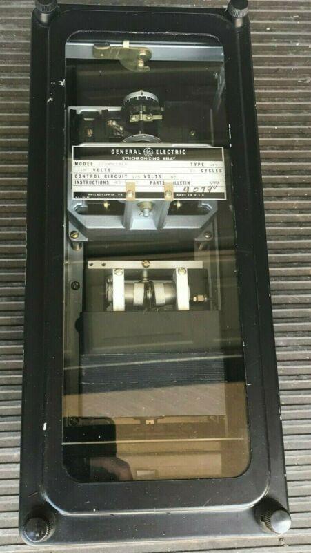 General Electric SYNCHRONIZING RELAY 12GXS11B1A GE FRAME 5 LA