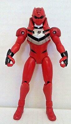 Power Rangers Jungle Fury RED TIGER STRIKE RIDER Ranger Bandai Action Figure - Power Ranger Jungle Fury