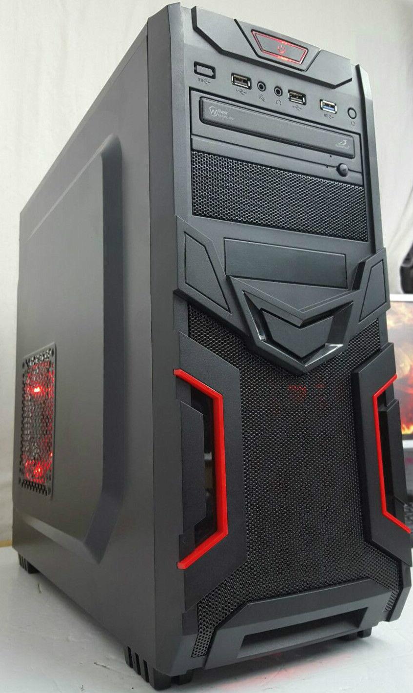 Computer Games - ULTRA FAST GAMING PC COMPUTER INTEl i3 @ 3.10GHz 4GB RAM 500GB HDMI WINDOWS 10