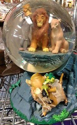 Lion King Pride Rock Snow Globe Circle of Life Disney Music Snow Ball